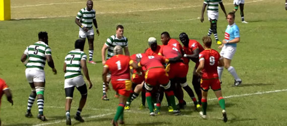 Sables Triumph Over Senegal in the Rugby Africa Gold Cup