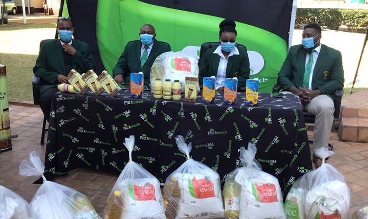 ZRU Distributes Covid19 Food Relief To Players