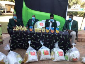 Food Relief For Zimbabwean Rugby Players