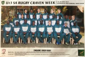 Zimbabwe Junior U14 Sables.