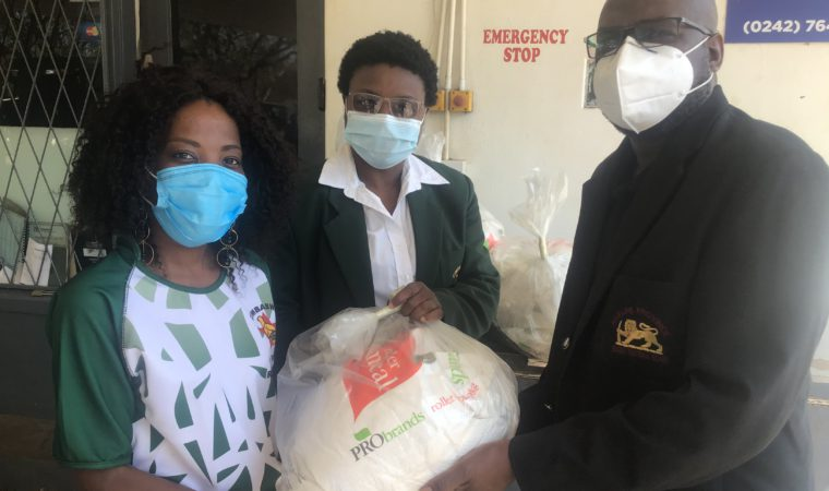 ZRU COVID-19 Committee hands over Food parcels to Rugby Referees