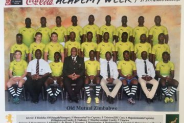 The First Zimbabwe U18 Academy team to take part in the South African U18 Academy Week in 2017