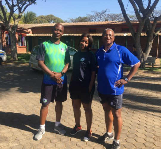 World Rugby Match Officiating Educators after conducting a L2 MO course